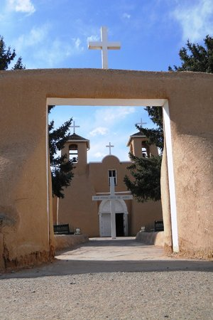 Ranchos De Taos, Nuovo Messico: entrance