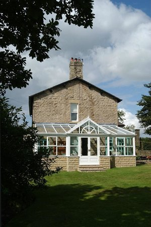 Glossop, UK: conservatory