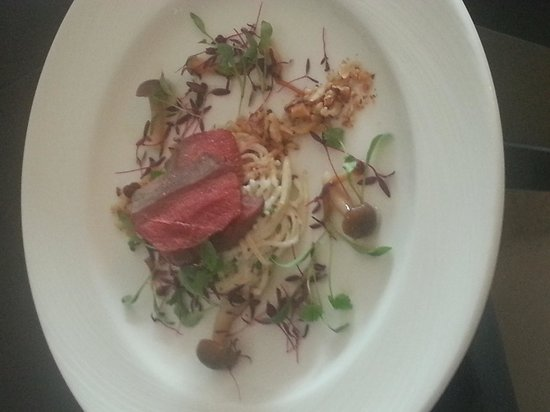 Berkhamsted, UK: Pigeon dish