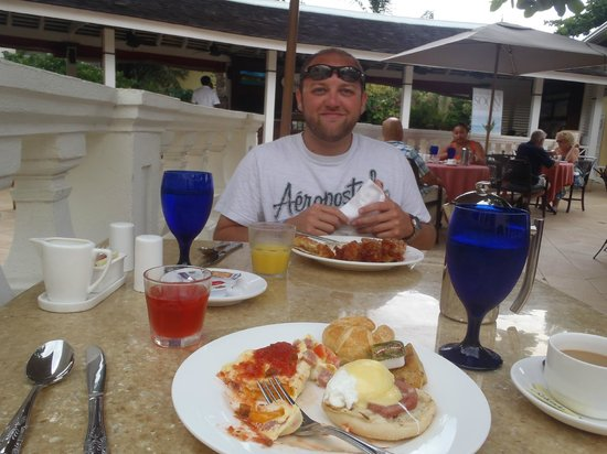 Sandals Royal Caribbean Resort: Last Breakfast