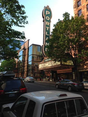 The Heathman Hotel: Arlene Schnitzer Concert Hall next door