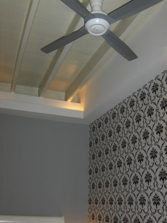 Jonker Boutique Hotel: Fan with Ceiling and Wall Detail