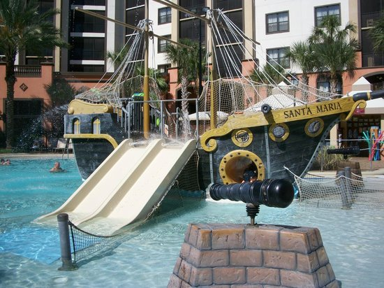 Sheraton Vistana Villages - International Drive: Pirate Ship