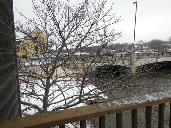 The Herrington Inn &amp; Spa: another balcony view