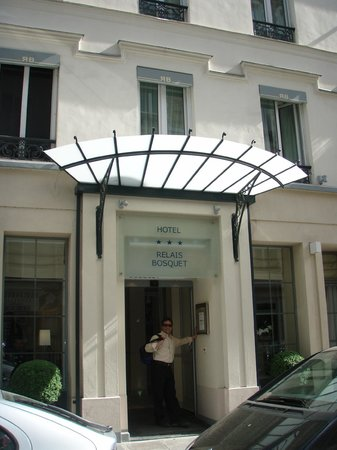Hotel Relais Bosquet Paris: Entrance