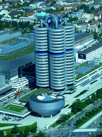Hotel Luitpold: BMW Welt from Olympic Tower