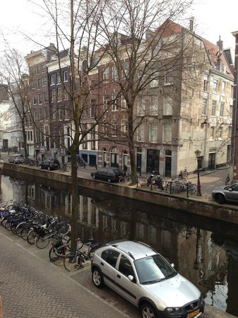 Sofitel Legend The Grand Amsterdam: Aussicht aus unserem Zimmer