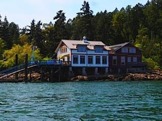 Pender Island, Canada: Cafe at Hope Bay