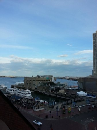 Boston Marriott Long Wharf: View from room