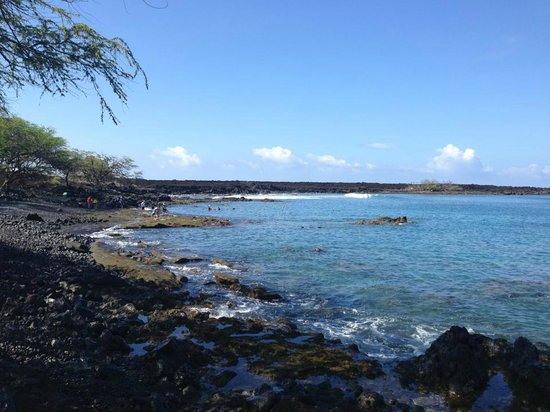 Makena, : Snorkeling in the Reserve right down the road
