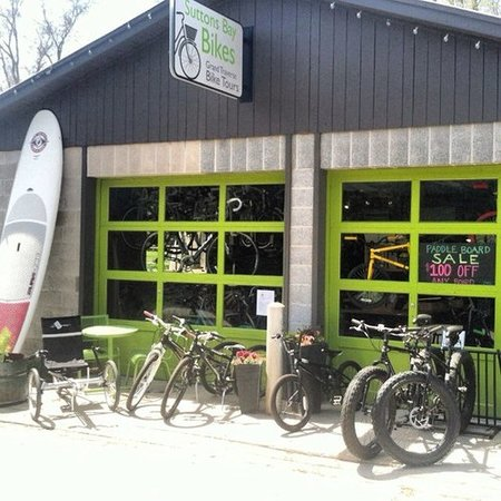 Suttons Bay Bikes & Grand Traverse Bike Tours