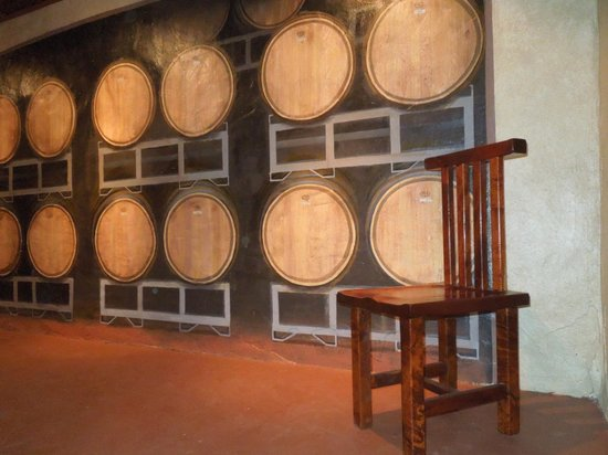 Stonewall, TX: Room for private events in the wine cellar
