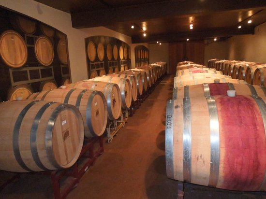 Stonewall, TX: The wine cellar