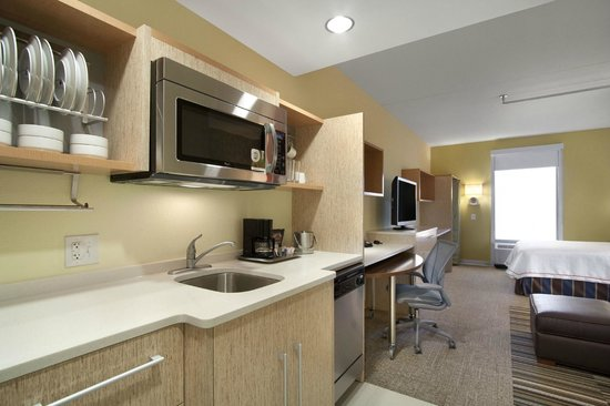"Home2 Suites by Hilton Lexington Park Patuxent River Nas, Md: Studio Suites ""working wall"""