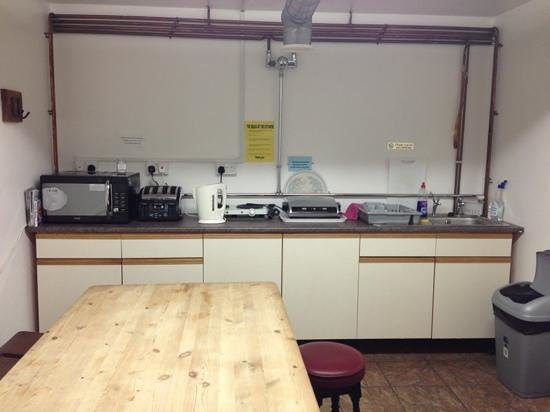 Kirkby in Furness, UK: well equipt kitchen.