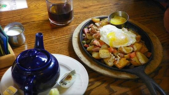 Port Angeles, Etat de Washington : The lodge breakfast (found this on their website)chestnutcottagerestaurant.com 