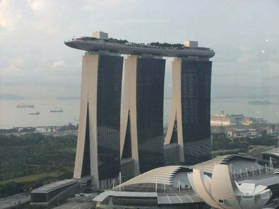 Pan Pacific Singapore: Taken from the Club lounge