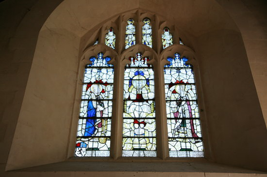 Whitchurch, UK: The window in the East wall