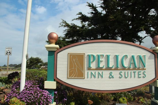 Pelican Inn & Suites: the sign