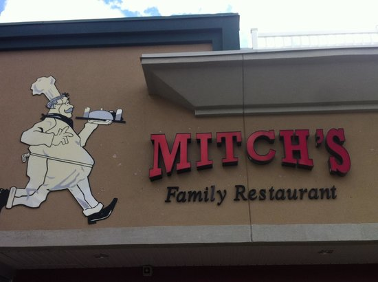 Drayton Valley, Canada: Mitch's family restaurant