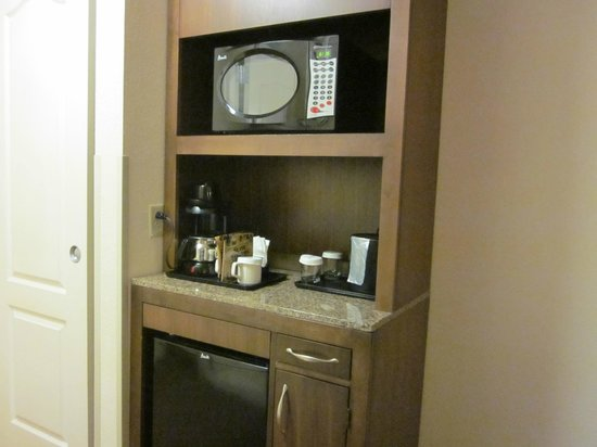 Hilton Garden Inn Chattanooga / Hamilton Place: Mini Fridge and Microwave