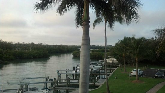 South Seas Island Resort: Looking south down the canal.