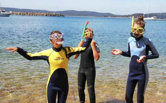Eden, Αυστραλία: Ready for a snorkel on the beautiful Sapphire Coast
