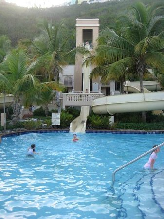 El Conquistador Resort, A Waldorf Astoria Resort: The water park has 3 slides - this is the steepest