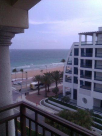 The Atlantic Resort & Spa: Balcony view from the 6th floor, facing South