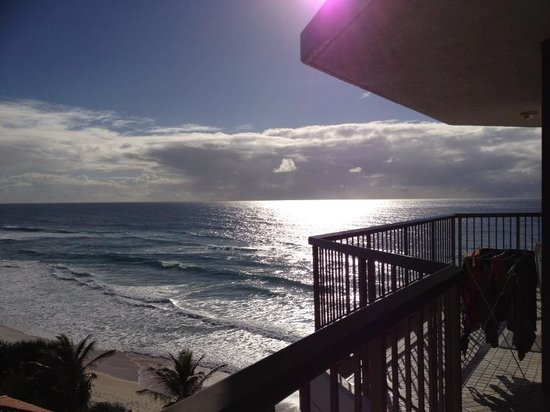 Mermaid Beach, Australie : the veiw from the main bedroom