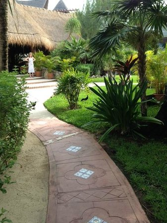 Mahekal Beach Resort: Grounds and the main entrance
