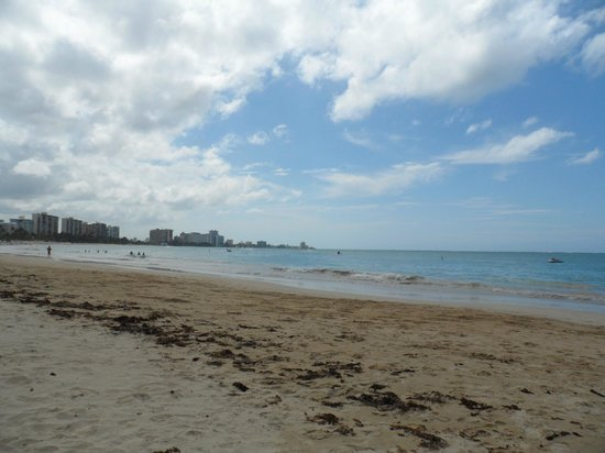 El San Juan Resort & Casino: The beach by the hotel