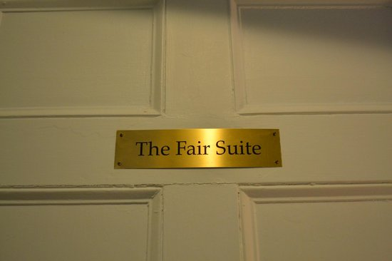 Eddington House Inn: Fair Suite