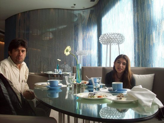 The Park New Delhi: En el restaurant del The Park Hotel