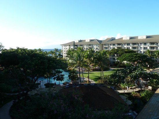 The Westin Kaanapali Ocean Resort Villas: Pool and ocean view from balcony