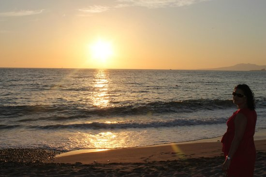 Secrets Vallarta Bay: great sunsets everynight!