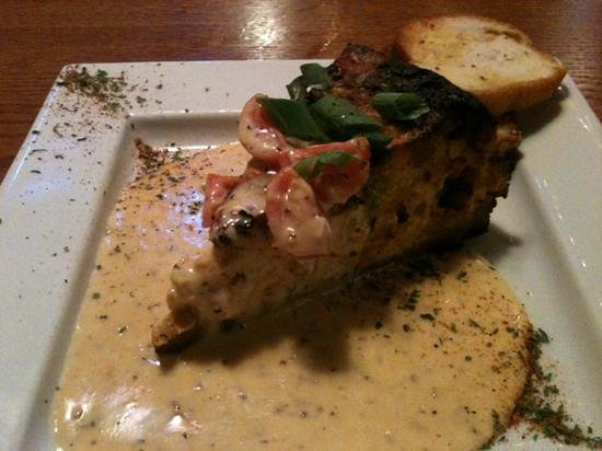 Natchez, MS: amazing delicious shrimp and alligator cheesecake!