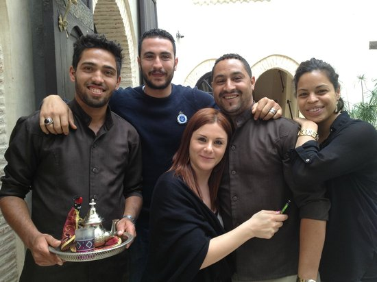 Riad Kheirredine: The exceptional staff!