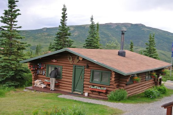 Camp Denali: one of the cabins