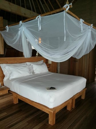 Six Senses Laamu: Bedroom