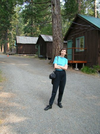 Mill Creek, CA: Some of the cabins.