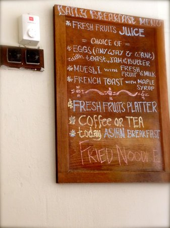 Noordin Mews: The variety of Breakfast options!