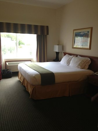 Holiday Inn Express Ashland: King bed