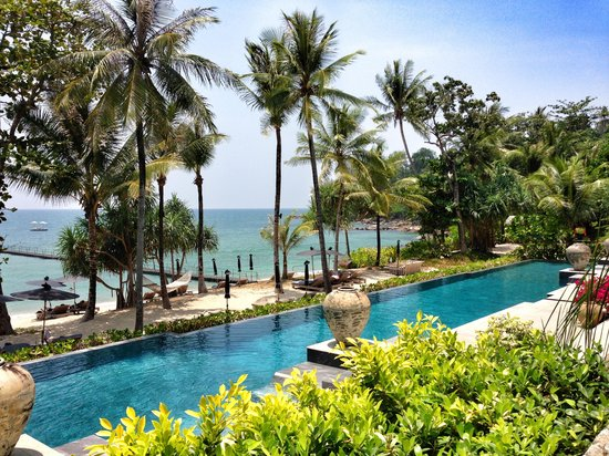 Trisara Phuket: Beach side salt water pool