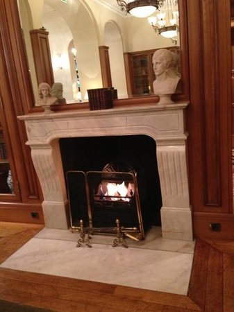 Millennium Hotel Paris Opéra   : The fireplace