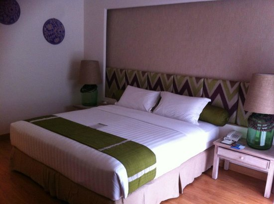 Bali Mandira Beach Resort &amp; Spa: Kingsize comfy bed