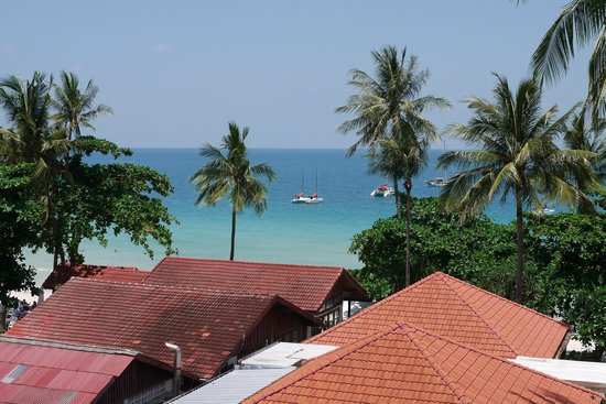 Centara Grand Beach Resort Samui: Aussicht Zimmer
