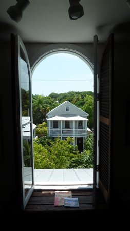 Key West Bed and Breakfast: Aussicht aus dem Fenster