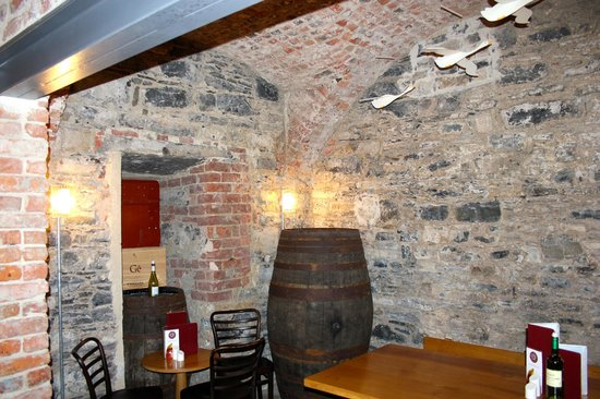 Cavan, Ireland: The cellar bar area