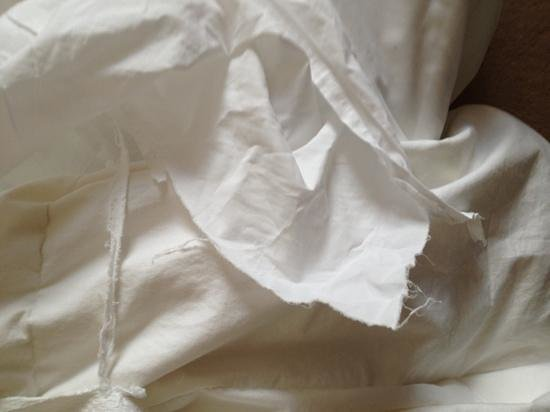 Tiara Park Atlantic Lisboa: Ripped duvet cover